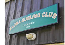 Elora Curling Club Outdoor Signage